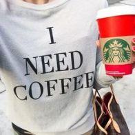 Starbucks I need Coffee