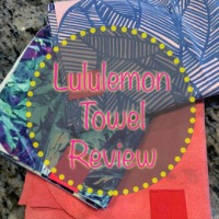 Lululemon Towels